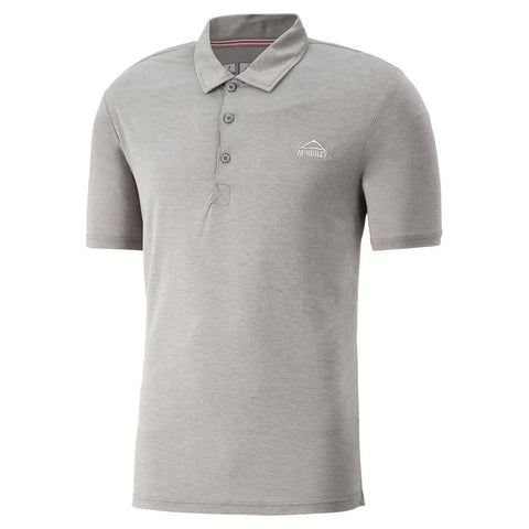 MCKINLEY MEN'S ALBANY POLO SHIRT FROST GRAY