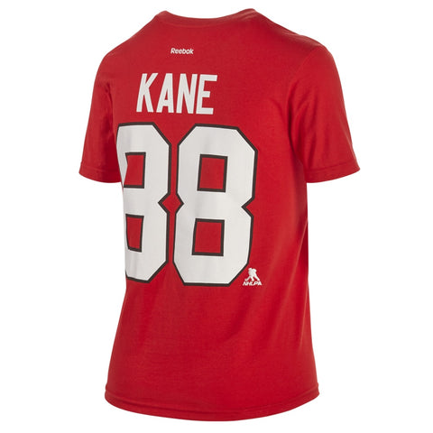 REEBOK YTH PLAYER TEE KANE BLACKHAWKS