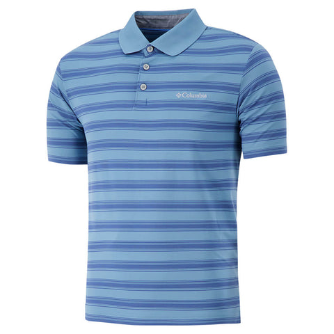 COLUMBIA MEN'S BIG SMOKE II STRIPE POLO