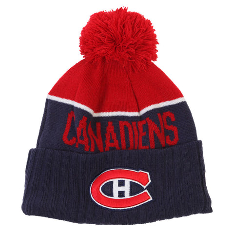NEW ERA MEN'S MONTREAL CANADIENS NE15 SPORT KNIT TOQUE