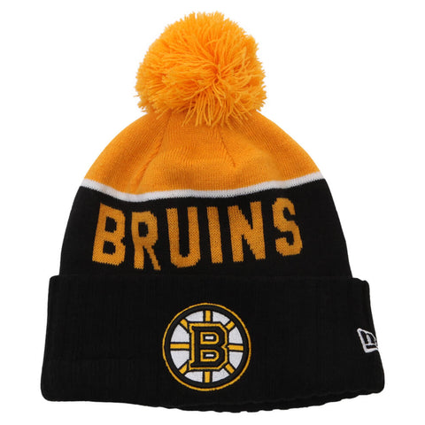 NEW ERA MEN'S BOSTON BRUINS NE15 SPORT KNIT TOQUE
