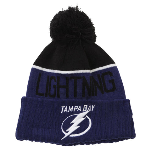 NEW ERA MEN'S TAMPA BAY LIGHTNING NE15 SPORT KNIT TOQUE