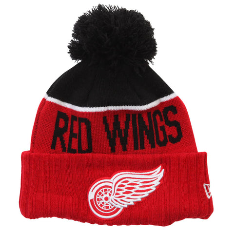 NEW ERA MEN'S DETROIT RED WINGS NE15 SPORT KNIT TOQUE