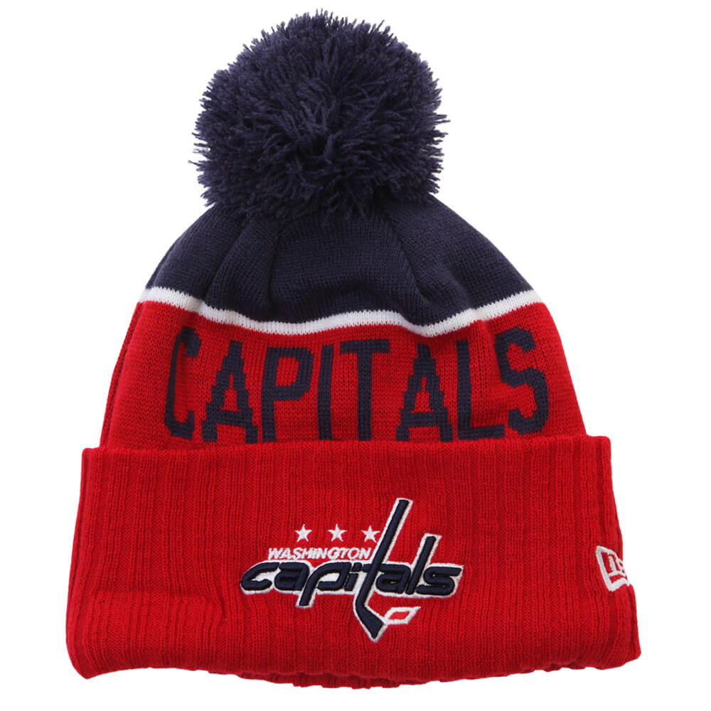 189e8127a65cd6 washington capitals reebok nhl knit striped grey hat cap toque beanie osfa;  new era mens washington capitals ne15 sport knit toque