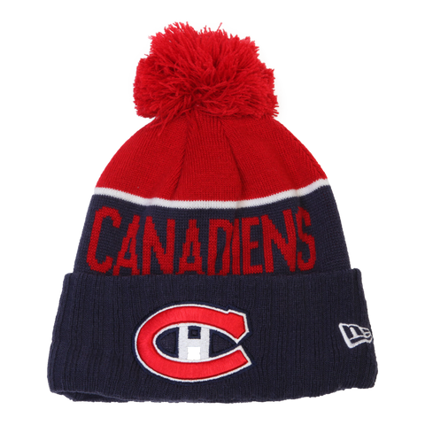 NEW ERA Y NE15 SPORT KNIT CANADIENS