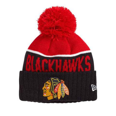 NEW ERA YOUTH CHICAGO BLACKHAWKS NE15 SPORT KNIT TOQUE