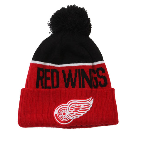 NEW ERA YOUTH DETROIT RED WINGS NE15 SPORT KNIT TOQUE