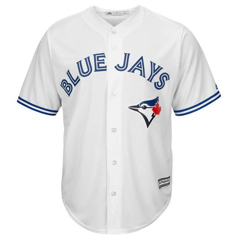 MAJESTIC MEN'S TORONTO BLUE JAYS GUERRERO JR. HOME JERSEY WHITE