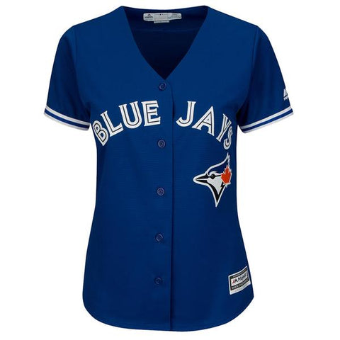 MAJESTIC WOMEN'S TORONTO BLUE JAYS ALTERNATE TRAVIS JERSEY ROYAL