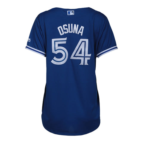 MAJESTIC LADIES TORONTO BLUE JAYS ALTERNATE JERSEY OSUNA  ROYAL