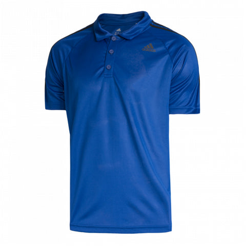 ADIDAS M D2M 3S POLO ROYAL