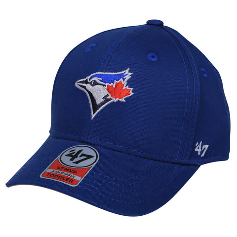 b0a8a21a32c 47 BRAND BOYS TODDLER TORONTO BLUE JAYS BASIC 47 MVP CAP