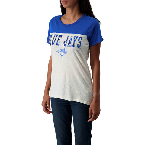 GIII 4HER WOMEN'S TORONTO BLUE JAYS OWNING THE FIELD TOP