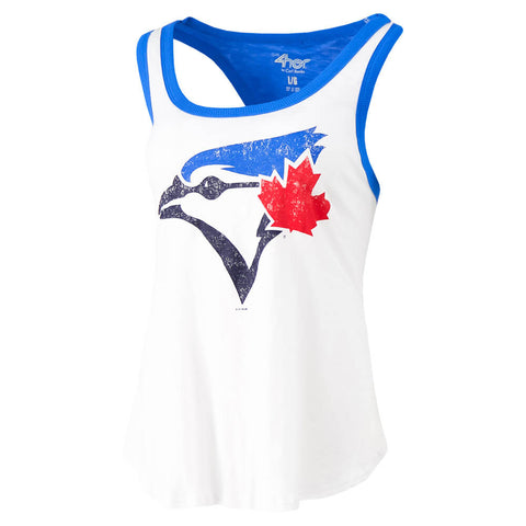 GIII 4HER WOMEN'S TORNOTO BLUE JAYS POWER ALLEY TANK
