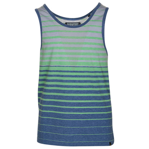 BURNSIDE YTH STRIPED TANK TOP LIGHT GREY