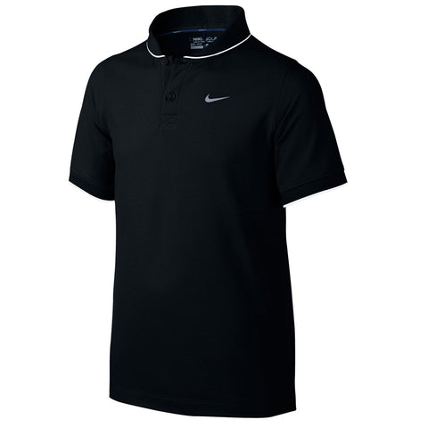NIKE BOY'S MM FLY POLO BLACK