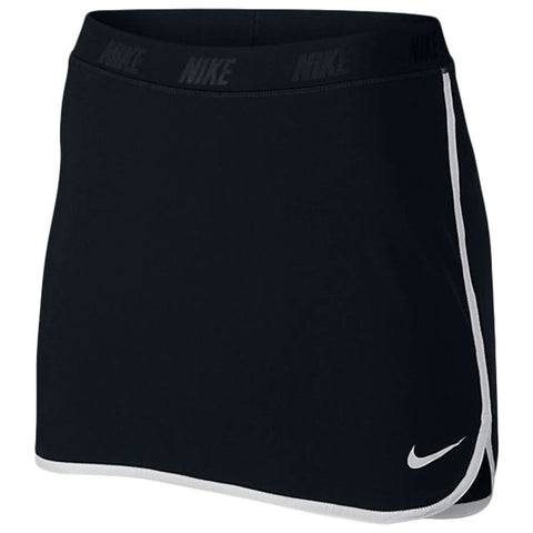 NIKE WOMEN'S GOLF FRINGE FLIP SKORT BLACK