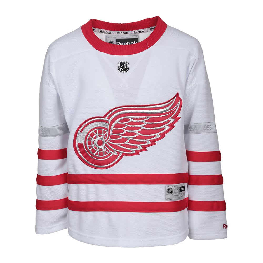 brand new f6ea1 96713 REEBOK YOUTH DETROIT RED WINGS 2017 CENTENNIAL CLASSIC JERSEY