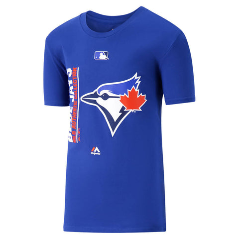 MAJESTIC YOUTH TORONTO BLUE JAYS GRUELLING ORDEAL LONG SLEEVE TOP