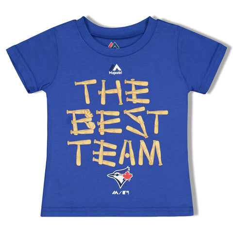 MAJESTIC 2-4T TORONTO BLUE JAYS BEST TEAM TOP