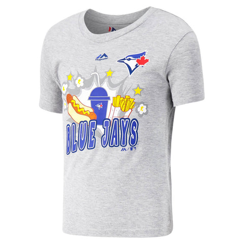 MAJESTIC 4-7 TORONTO BLUE JAYS SNACK ATTACK TOP