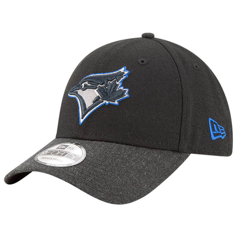 NEW ERA MEN'S TORONTO BLUE JAYS LEAGUE HEATHER 2 HAT BLACK/HEATHER BLACK