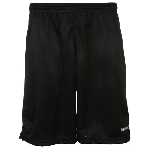REEBOK MEN'S MESH BASKETBALL SHORT BLACK