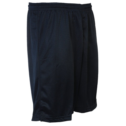 REEBOK MEN'S MESH BASKETBALL SHORT ATHLETIC NAVY