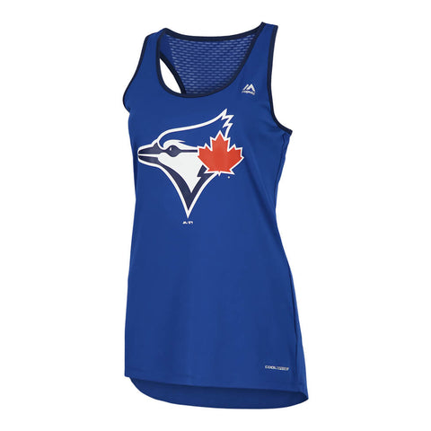 MAJESTIC WOMEN'S TORONTO BLUE JAYS ALL ABOUT FUNCTION TANK