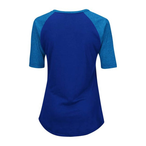 MAJESTIC WOMEN'S TORONTO BLUE JAYS QUICK HANDS TOP