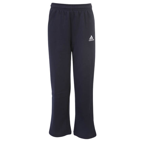 ADIDAS YOUTH TEAM FLEECE PANT NAVY