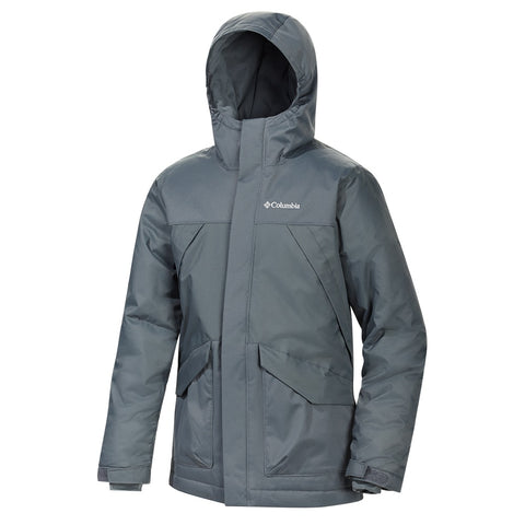 COLUMBIA Y SWISS MISTER JACKET GRAPHITE