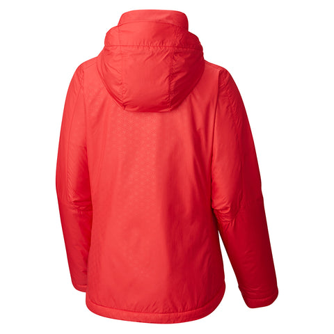 COLUMBIA WOMEN'S GOTCHA GROOVIN INSULATED JACKET RED CAMELLIA 2017