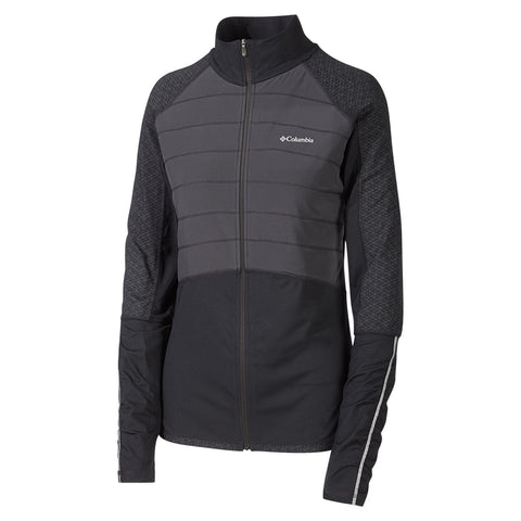 COLUMBIA W TRAIL FLASH HYBRID JKT BLK