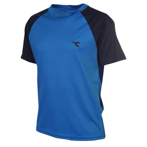 DIADORA BOYS RAGLAN TECH TEE ELECTRIC BLUE