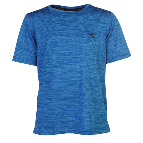 DIADORA BOYS SPACEDYE TECH TEE ELECTRIC BLUE