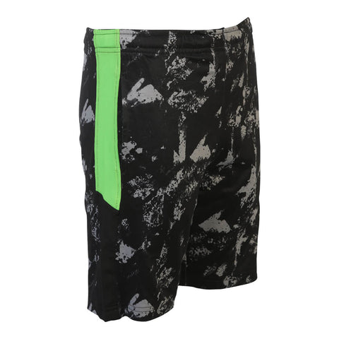 DIADORA BOYS DILIGENT 8'' SHORT PRINT/GREEN GECKO/BLACK