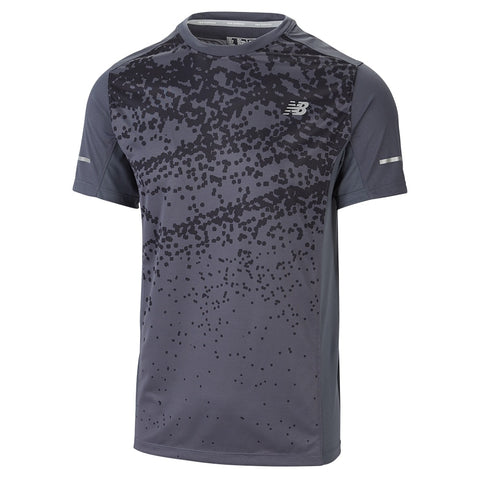 NEWBALANCE M GRAPHIC 5K RUN TOP BIT