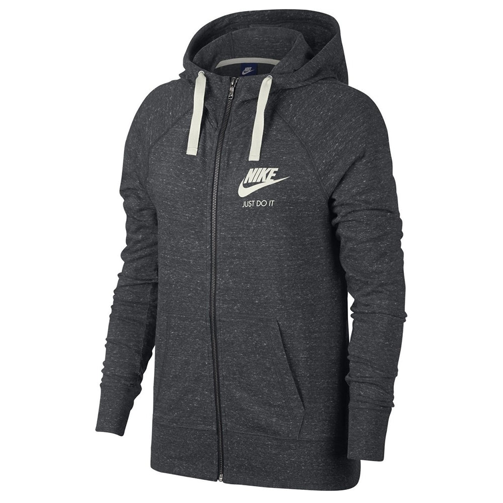 45c8acf4503c NIKE WOMEN S GYM VINTAGE FULL ZIP HOODY ANTHRACITE GREY – National ...