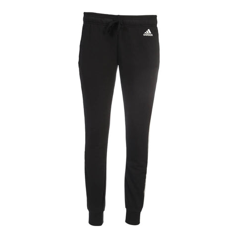 ADIDAS WOMEN'S ESSENTIAL 3 STRIPE PANT BLACK