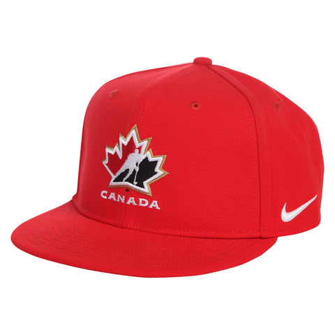 42d632bd700 NIKE YOUTH TEAM CANADA PRIMARY SNAPBACK CAP RED ...
