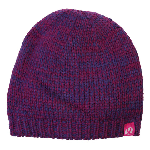 FIREFLY BREAST CANCER FOUNDATION PINK RIBBON BEANIE HOLLYHOCK