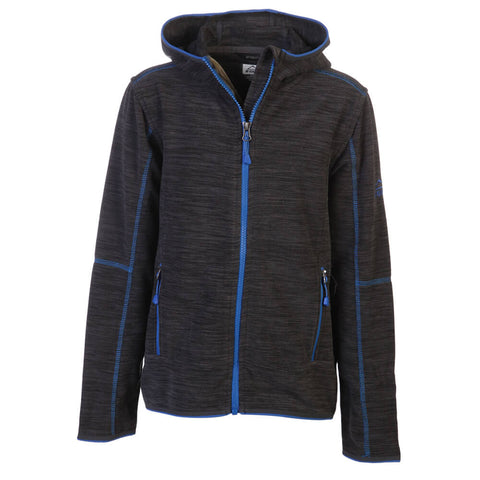 MCKINLEY BOYS CHOCO II FLEECE JACKET ANTHRACITE
