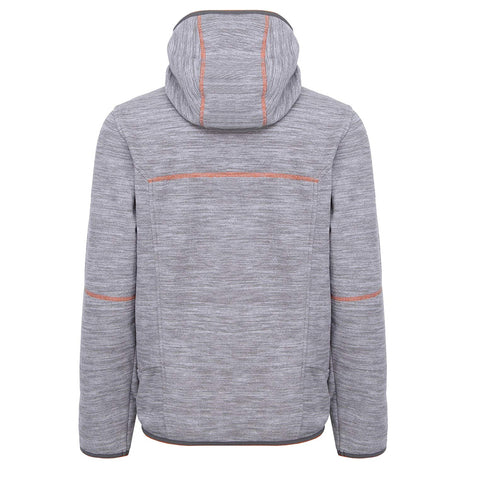 MCKINLEY BOYS CHOCO II FLEECE JACKET GREY