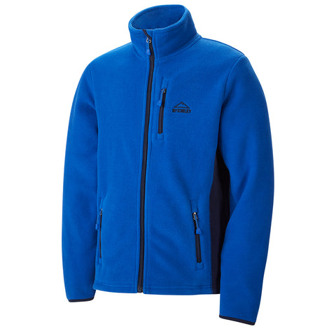 MCKINLEY B COARI FLEECE JACKET BLUE