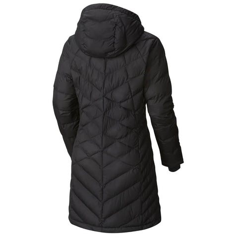 COLUMBIA WOMEN'S HEAVENLY LONG HOODED JACKET BLACK