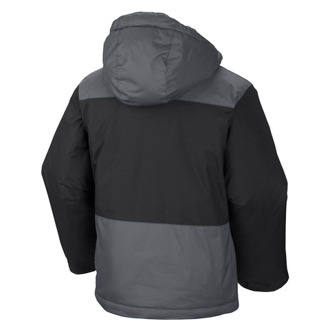 COLUMBIA YOUTH LIGHTNING LIFT INSULATED JACKET BLACK/GRAPHITE