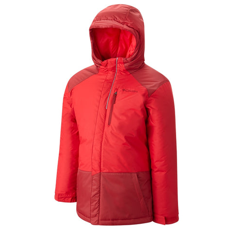 COLUMBIA Y LIGHTNING LIFT WP INS JKT RED