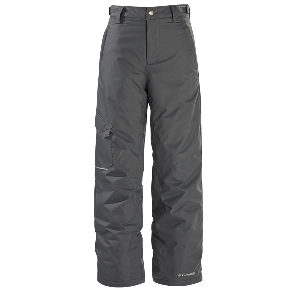 a22c1537d72270 COLUMBIA BOYS  BUGABOO OMNI HEAT INSULATED SNOWPANTS GRAPHITE ...