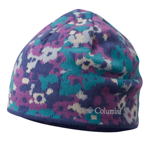 COLUMBIA GIRLS URBANIZATION MIX SMALL/MEDIUM BEANIE PURPLE